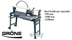 Grone Electric Tile Cutter 1500W 750-1250mm New