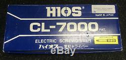 H1os Cl-7000 Electric Driver (1/4 F/hex) With Joden Electron Clt-50 Power Supply