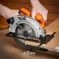 Heavy Duty Circular Saw Hand Power Mitre Electric Circle Cutter Blade Tool Round