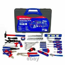 Household Set Screwdrivers Electrical Pliers Sockets Spanner Wrench 139pc Tools