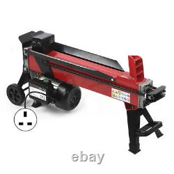 Hydraulic 7 Ton Log Splitter Electric Heavy Duty Wood Timber Cutter Hand Tool