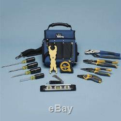 IDEAL Electrical 35-790 13-Pc Journeyman Electrician's Hand Tool Kit