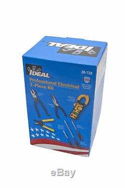 Ideal 30-728 Professional Electrical 7-Piece Tools Kit
