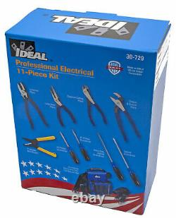 Ideal 30-729 Professional Electrical 11-Piece Tool Kit