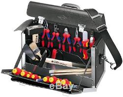KNIPEX 00 21 02 SL Tool Bag 24 parts apprentices tool bag for electrical cont