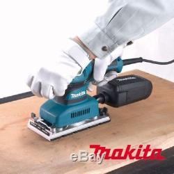 MAKITA Corded Electric Finishing Sander BO3711 190W 93x185mm Smooth Sanding VG