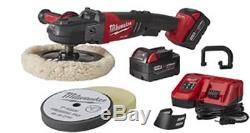 MILWAUKEE ELECTRIC TOOL M18 FUEL 7 Variable Speed Polisher- Kit MWK2738-22P