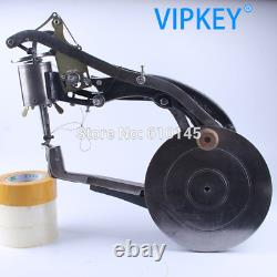 Manual Shoe Edge Repairing Machine Obolique Needles Sewing Side of Travel Shoes