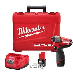 Milwaukee Electric Tool 2452-22 M12 Fuel 1/4 Square Drive Impact Driver