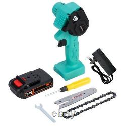Mini Electric Saw Chainsaw 24V For Fruit Tree Woodworking Garden Tools