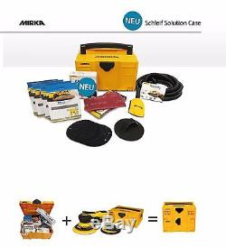 Mirka Suitcase with Abranet and Accessories+Deros Electric Random orbital sander