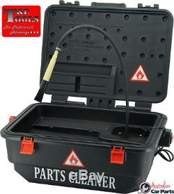 Mobile Parts Washer T&E Tools WH700MS NEW Electric 9LTR