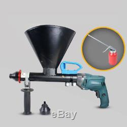 Mortar Grout Electric Gun Patio Brick Pointing & Grouting Applicator Machine FS