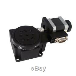 Motorized Precision Rotary Stages Table Electric Rotating Platform Diameter 60mm