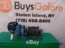 My-Te model 3000/6000 lbs Electric Winch 120 Volts Hoist Works Fine