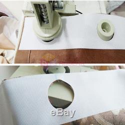 NEW Electric Curtain Eyelet Punch Machine Circle Cutting Tool Curtain Punching