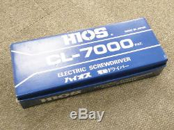NEW HIOS Electric Electric Torque Screwdriver CL-7000