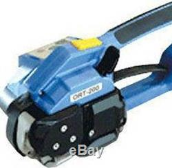 NEW ORT-200 Electric Battery Powered PP/PET Strapping Mechine Hand Packing Tool