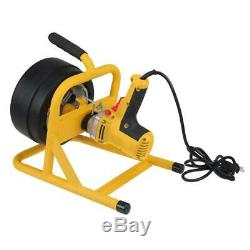 OLYMPIA Electric Auger 115-Volt 50 ft. Hand Tool Electrical Outlet Winding Drum