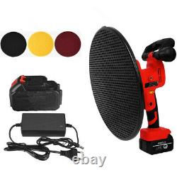 Portable 400W 200 RPM Cordless Electric Sander with Battery For Mortar Paint Mud