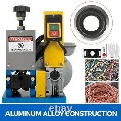 Powered Electric Wire Stripping Machine With Extra Blade Peeling 1.5-25mm Scrap