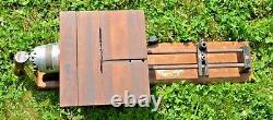 RARE! Goodell Pratt Electric Hand Drill Wood Lathe With Table Saw Attachment WOW