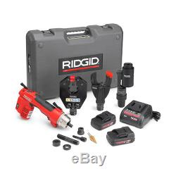 RIDGID 52093 RE 6 Electrical Tool Kit with Cutter, Crimp and Punch Heads