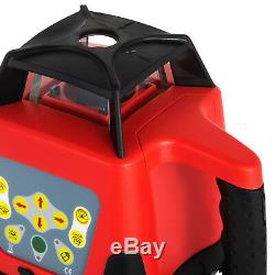 Rotary Laser Level Red Beam Self-leveling Automatic Remote Control Self-rotating