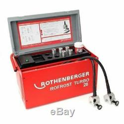 Rothenberger ROFROST Turbo 28 Electric Pipe Freezer 150003162