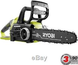 Ryobi Electric Hand Chainsaw 18-Volt Lithium-Ion Cordless Brushless (Tool Only)