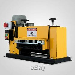 Scrap wire cable stripper stripping recycle machine automatic electric 1-38mm