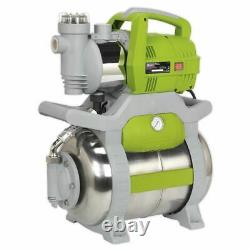 Sealey Booster Pump Surface Mounting Stainless Steel / 55ltr/min 230V WPB062S