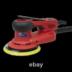 Sealey DAS150PS Electric Palm Sander 150mm Variable Speed 350With230V (NL21)