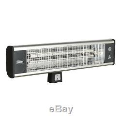 Sealey IWMH1809R High Efficiency Carbon Fibre Infrared Wall Heater 1800With230V