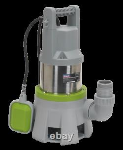 Sealey WPD415 High Flow Submersible Stainless Dirty Water Pump Automatic SUM21