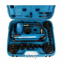 TEMCo TH0037 4 HYDRAULIC KNOCKOUT PUNCH Electrical Conduit Hole Cutter Set K
