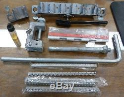 WESTERN ELECTRIC 945A1 710 Module 5-Pair Cutter Presser Hand Tool Kit with Case